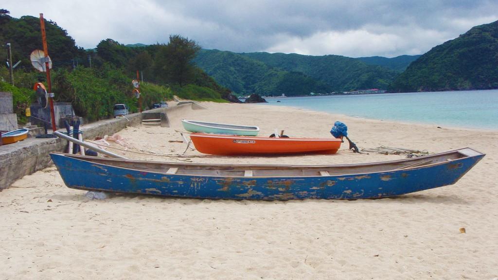 奄美の伝統船アイノコ