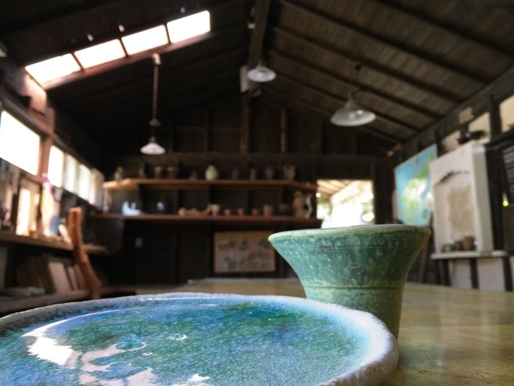 奄美ケンムン村:古代焼き体験