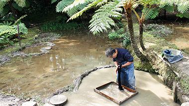 奄美伝統の大島紬の工程見学•体験できる亜熱帯植物庭園「大島紬村」
