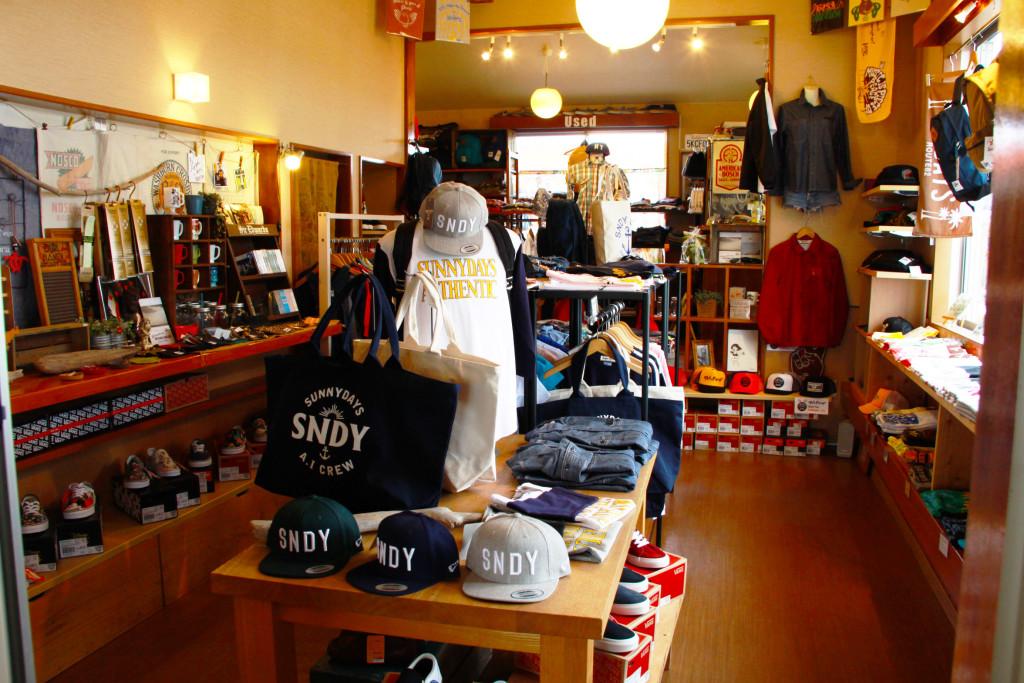 SunnyDays店内2