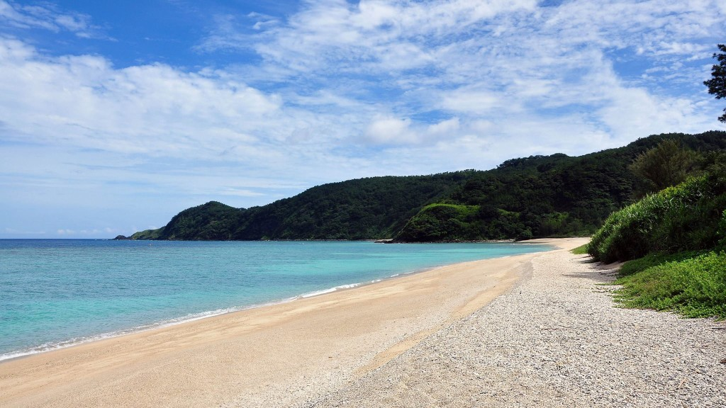 奄美の国直海岸