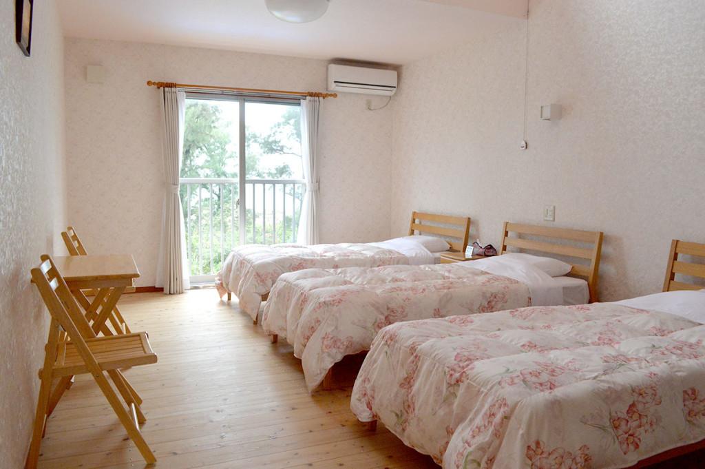 龍郷町赤尾木マリンテラス、オーシャンビューの客室