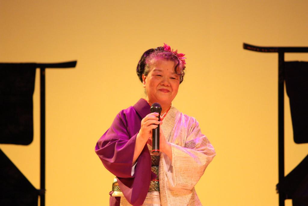 奄美新民謡の歌手、作曲家の久永美智子さん