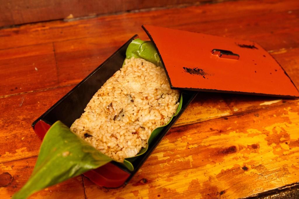 奄美郷土料理居酒屋「一村」、ウナギのサネン蒸し