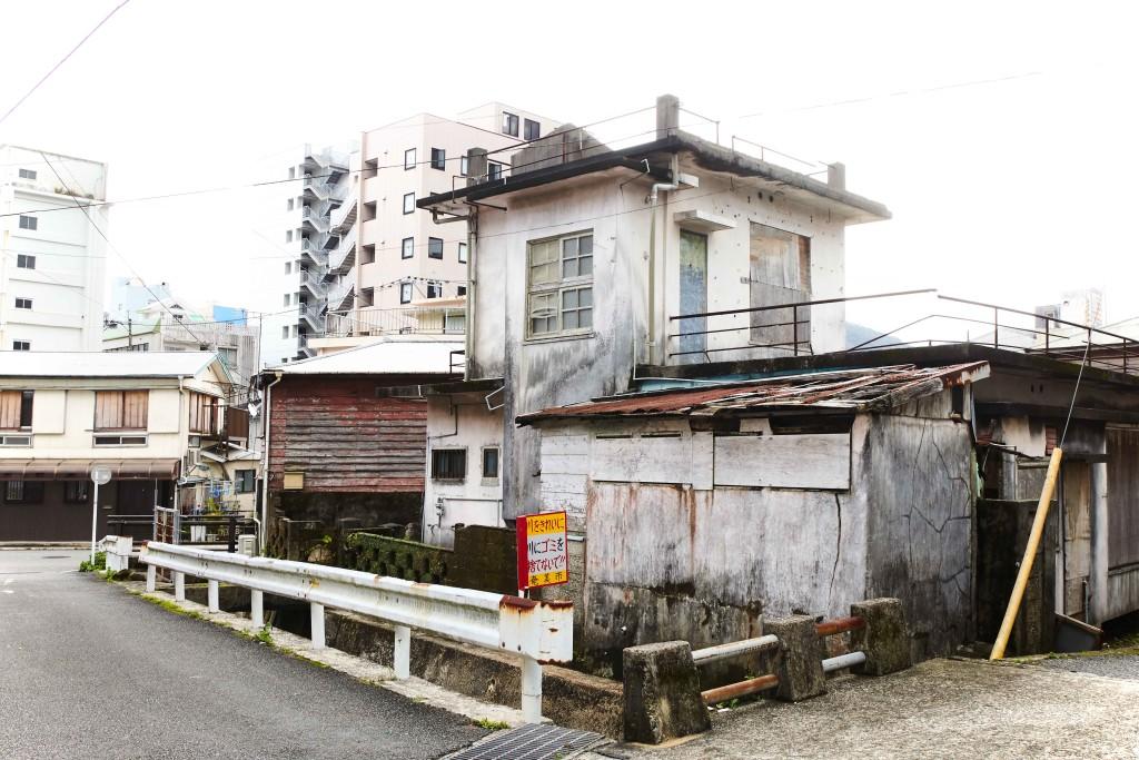 富田酒造場がある入舟町の風景