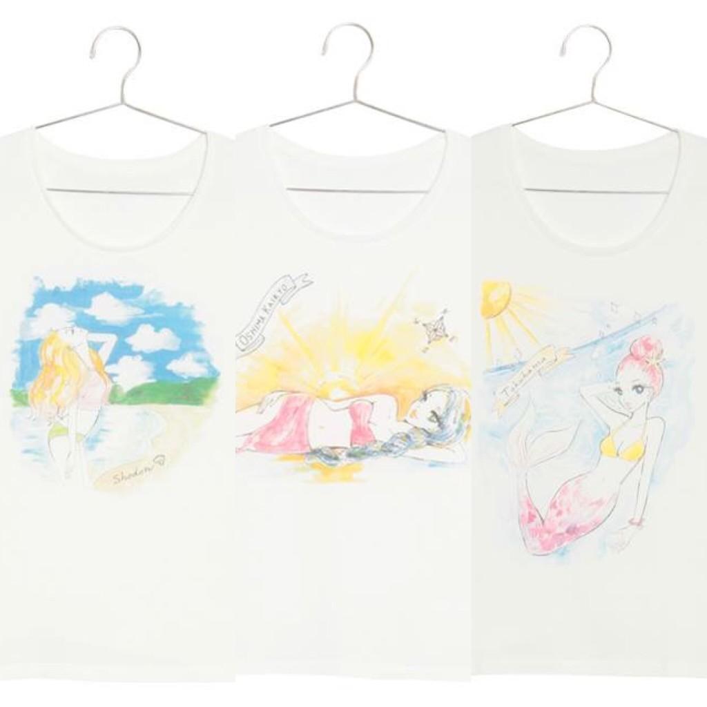 ILAND identityのTシャツ