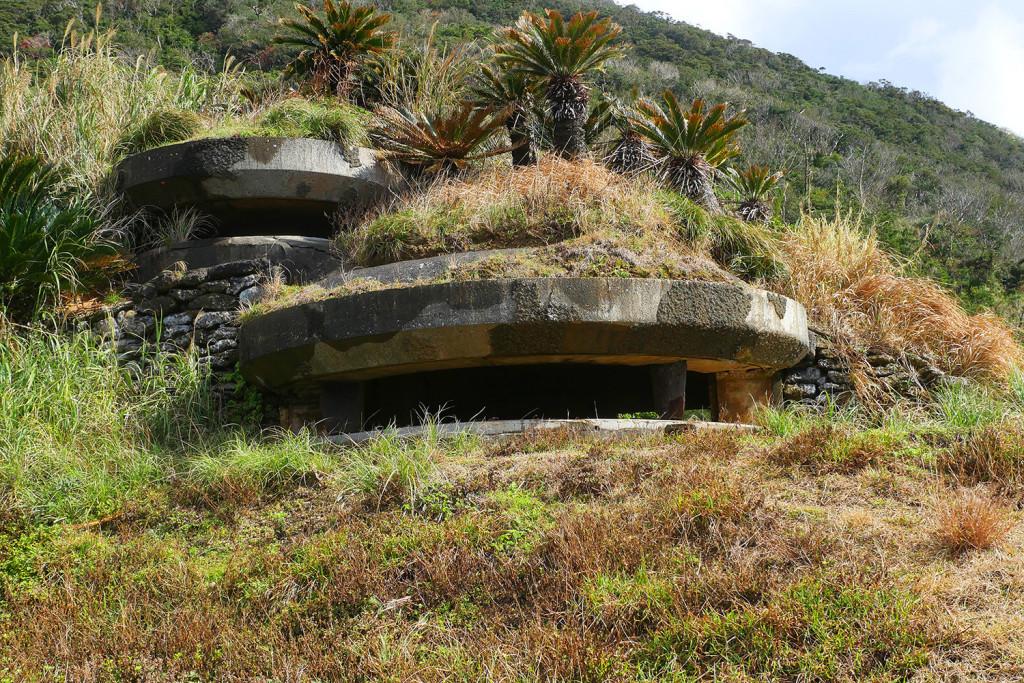 西古見の観測所跡