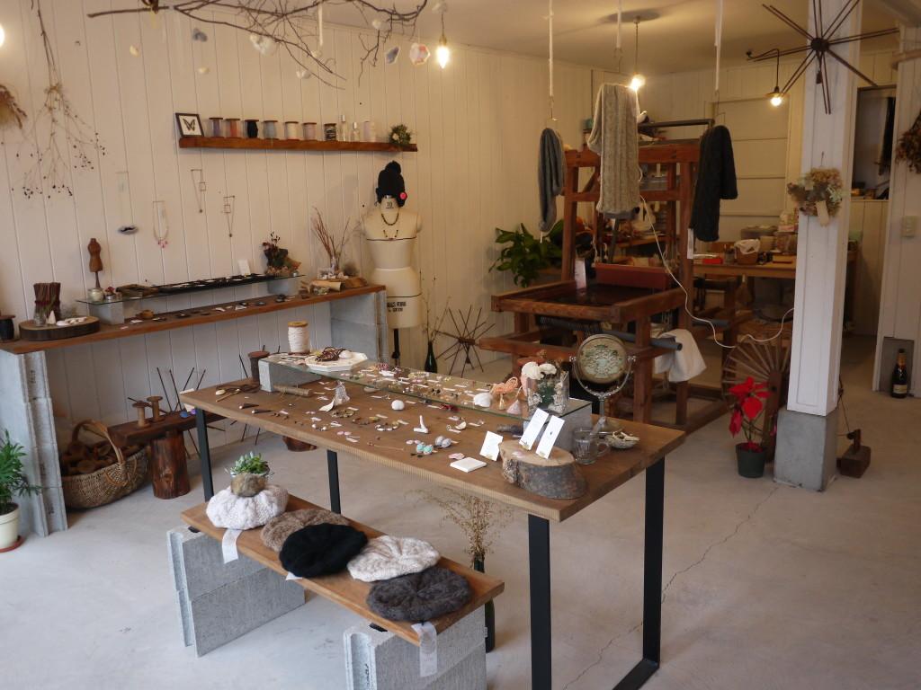 Atelier limaの店内