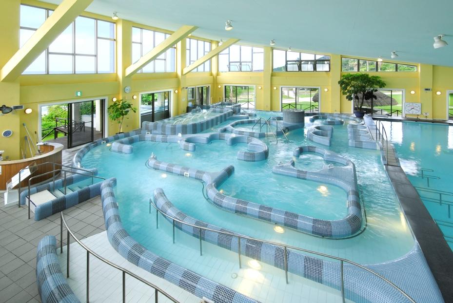 タラソテラピーセンター:タラソ奄美の竜宮の内観