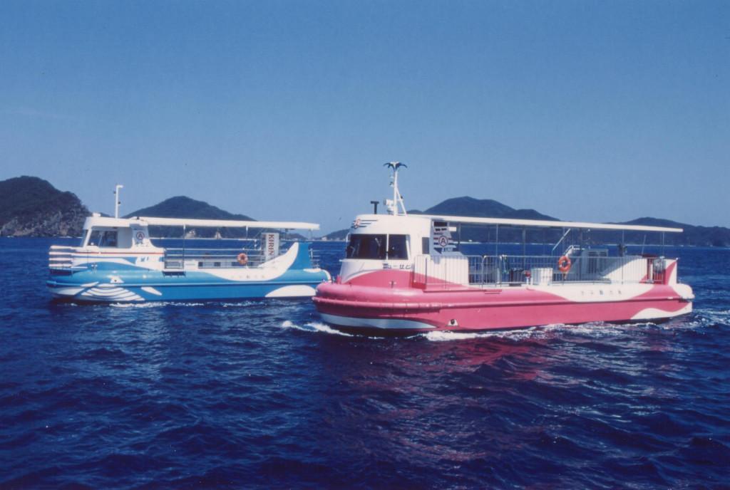 水中観光船せと(2)