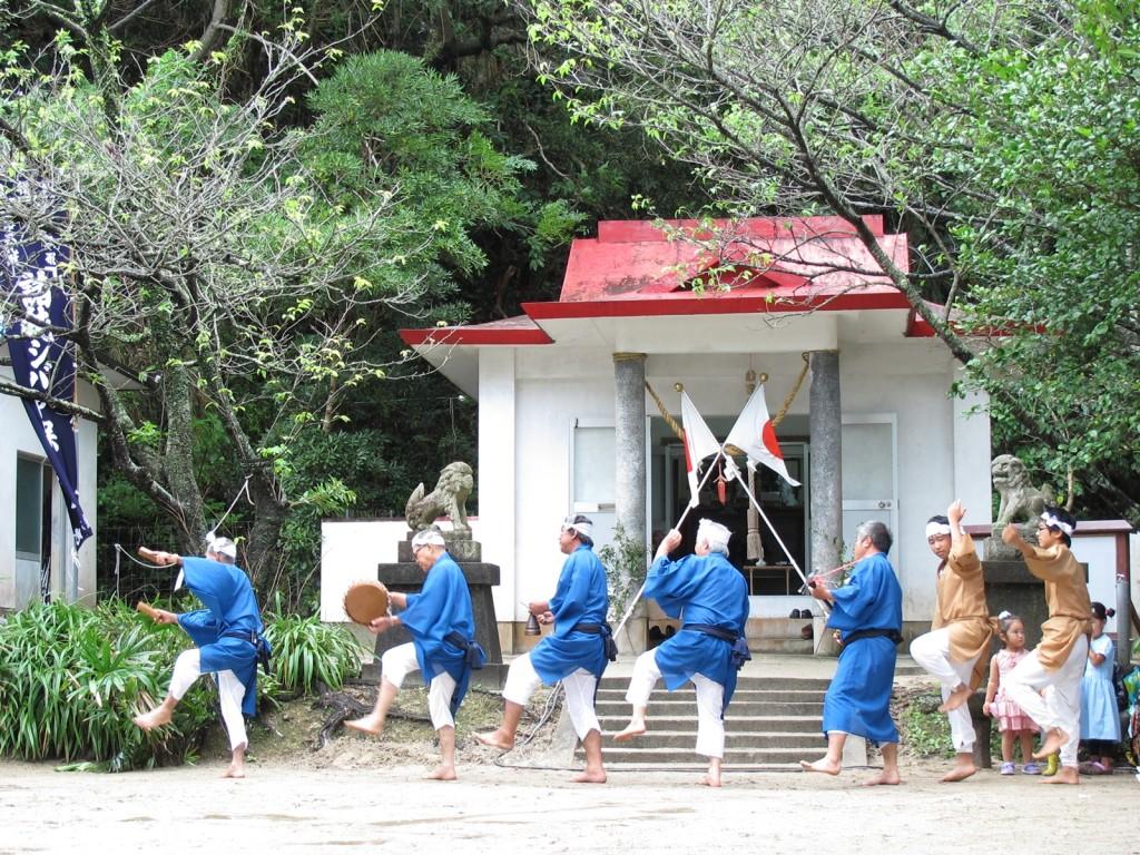 加計呂麻島の諸鈍シバヤ