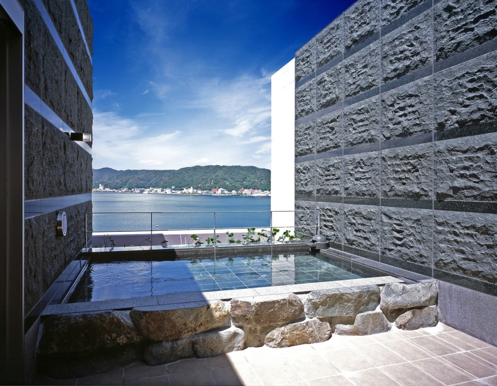 スパリゾート奄美山羊島ホテルの展望露天風呂