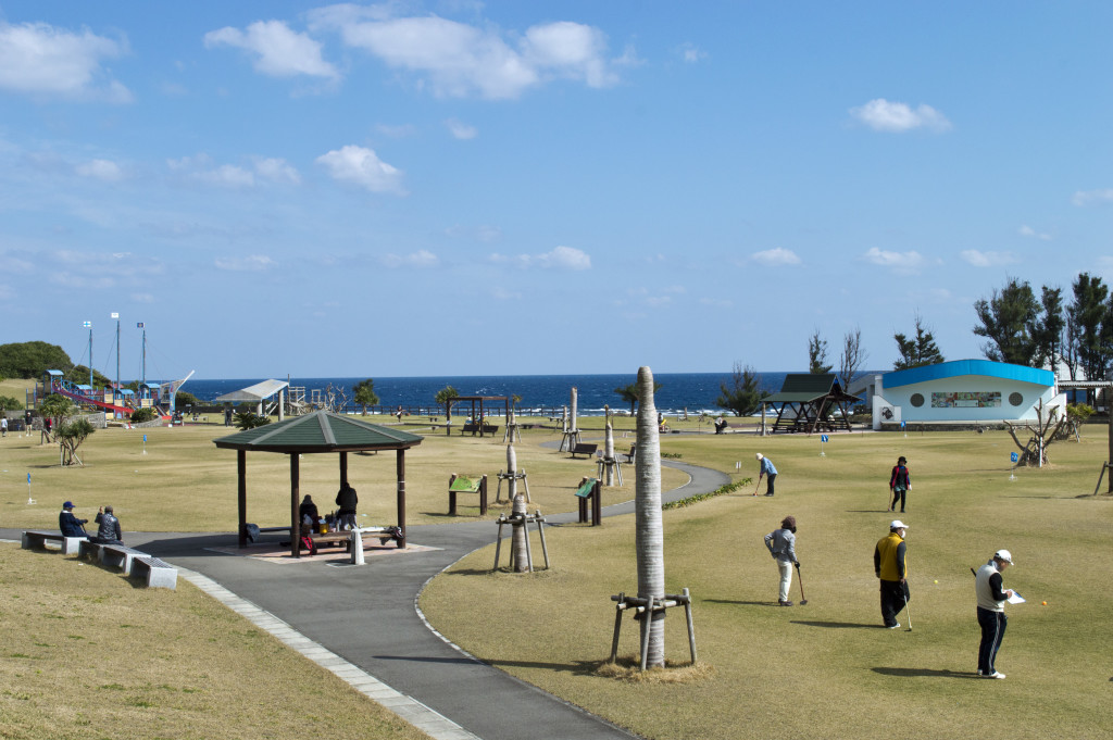あやまる岬観光公園グラウンドゴルフ