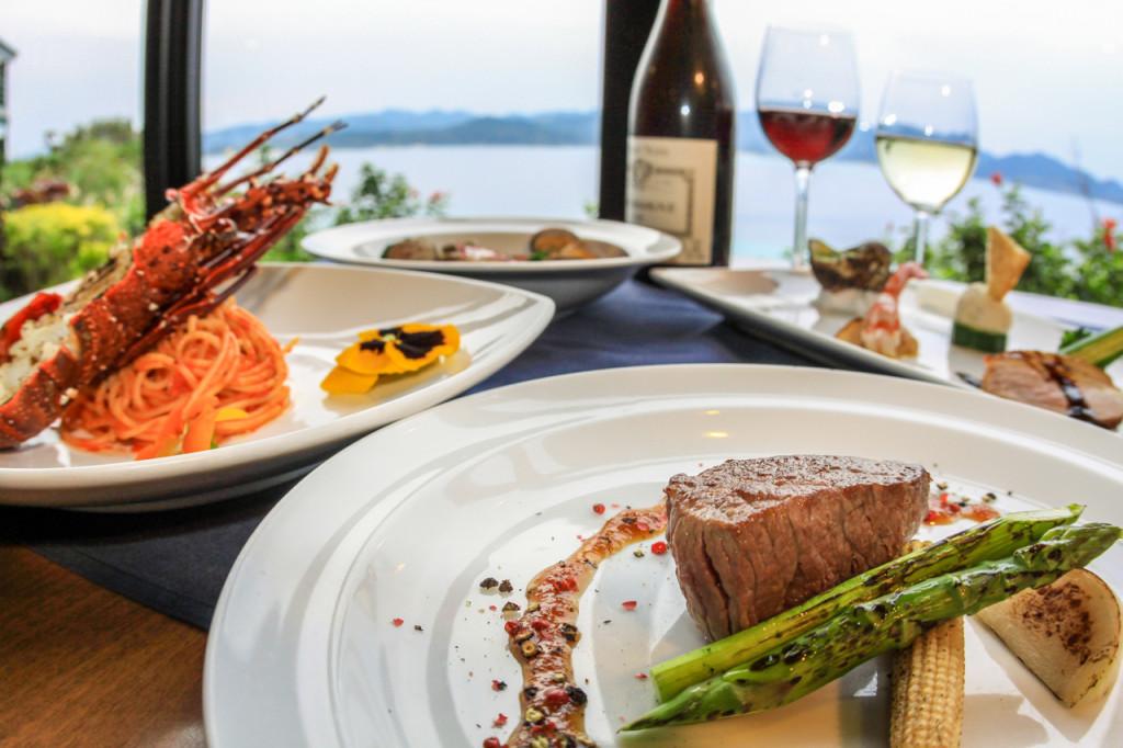 ネイティブシー奄美のレストランForestは島食材をふんだんに使用