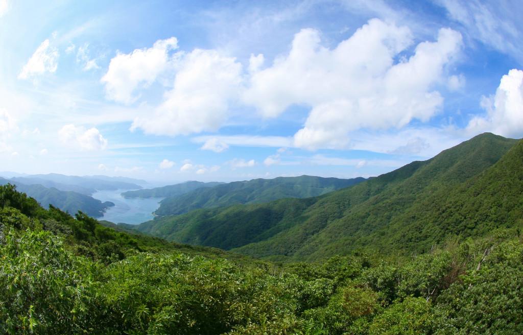 奄美最高峰の湯湾岳