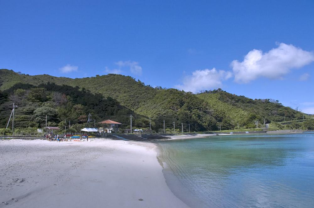 宇検村タエン浜海水浴場