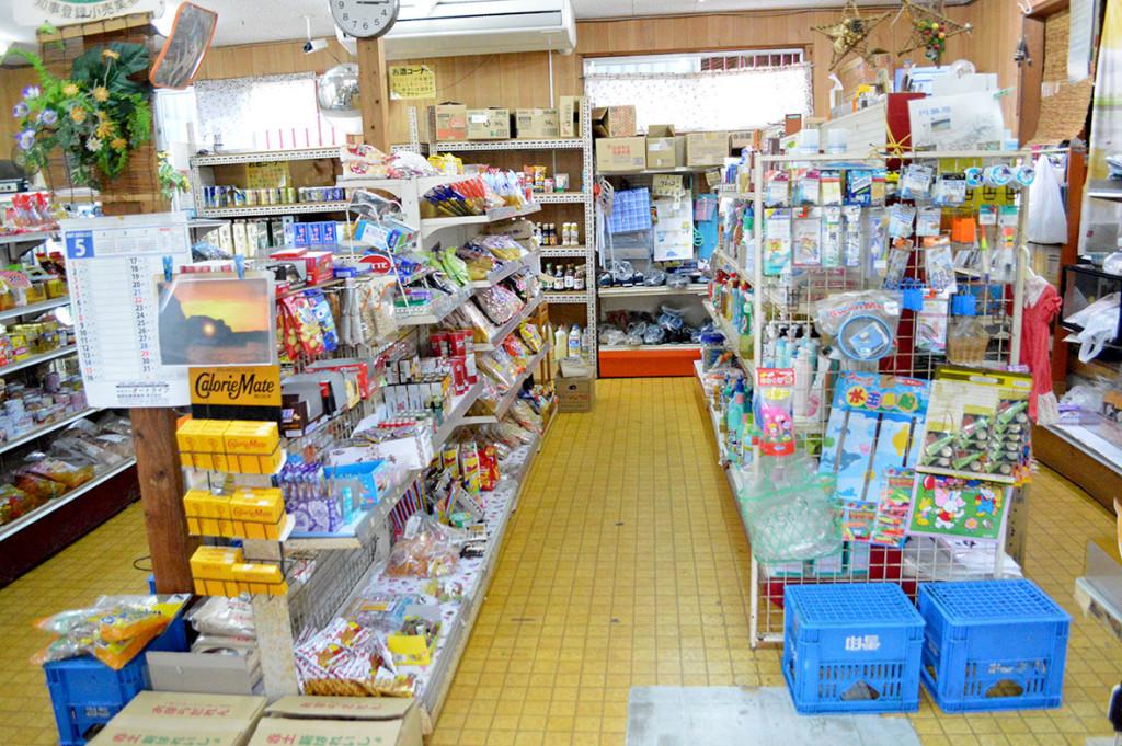 龍郷町円集落、「フレッシュまどか」店内