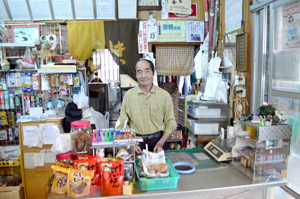 龍郷町円集落、「フレッシュまどか」代表の奥村潔さん