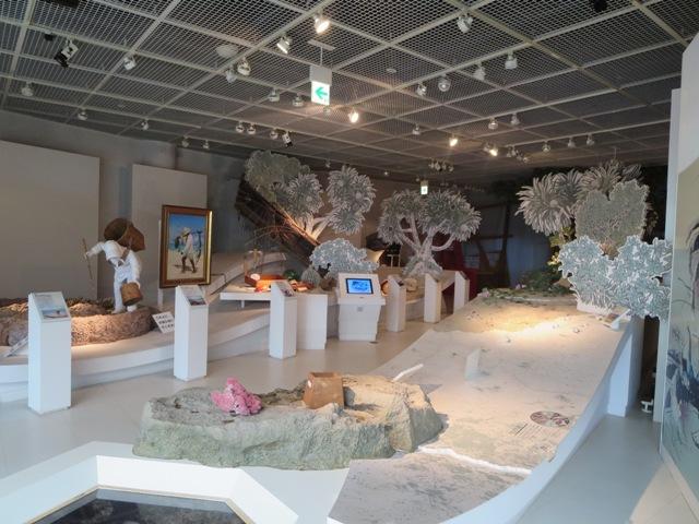 奄美海洋展示館の2階展示室