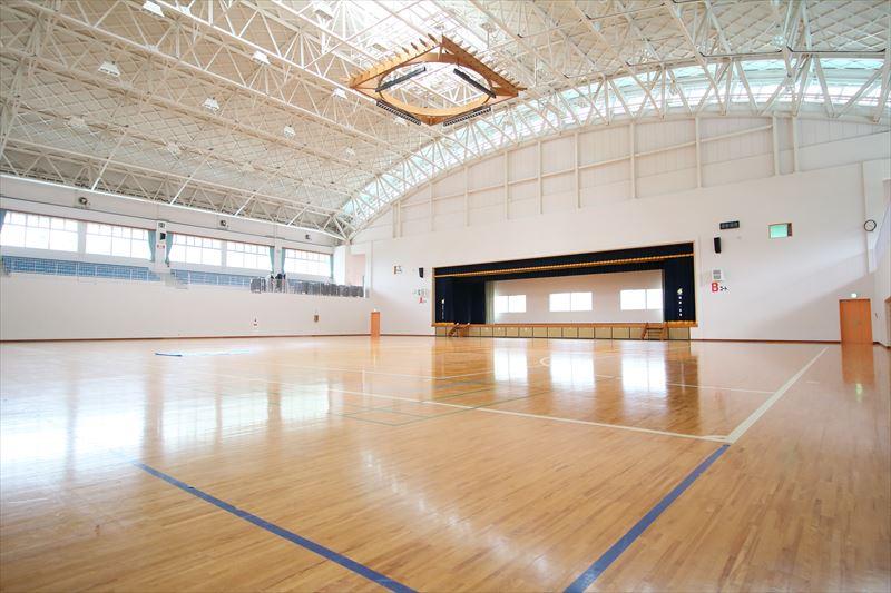 奄美体験交流館の体育館