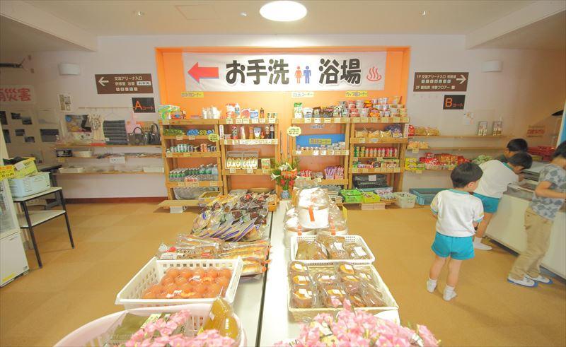 奄美体験交流館の売店
