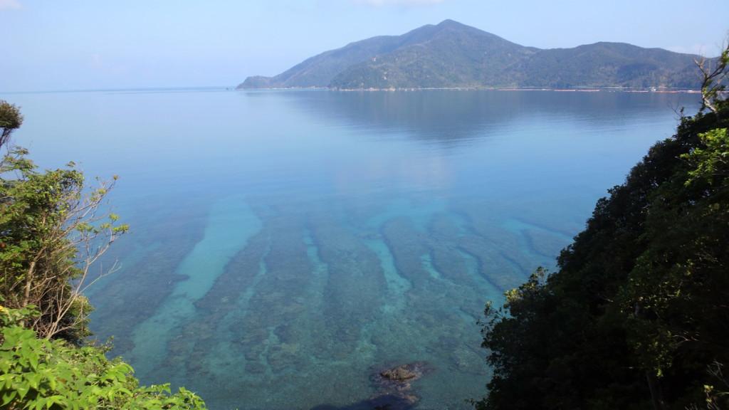 宇検村、透き通った海