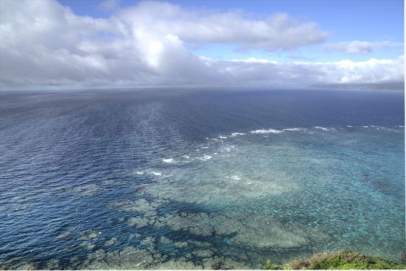 奄美、明神崎展望台からの眺め
