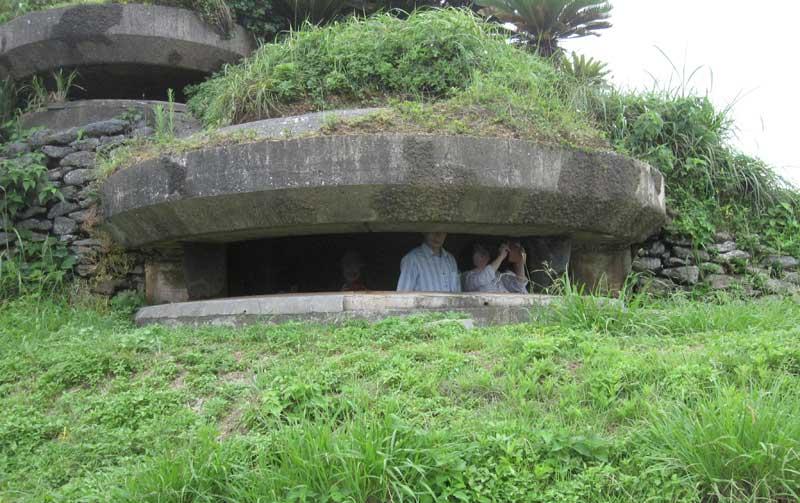 奄美旧日本軍の戦跡「西古見観測所公園」
