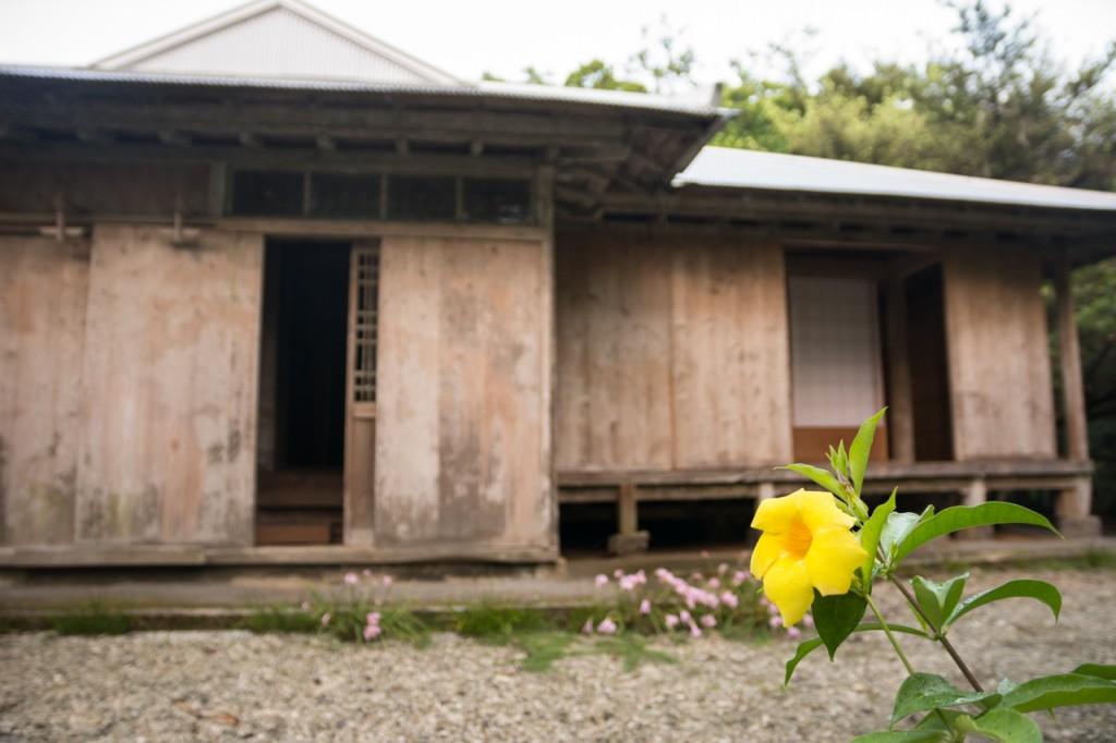 奄美笠利市の薗家外観
