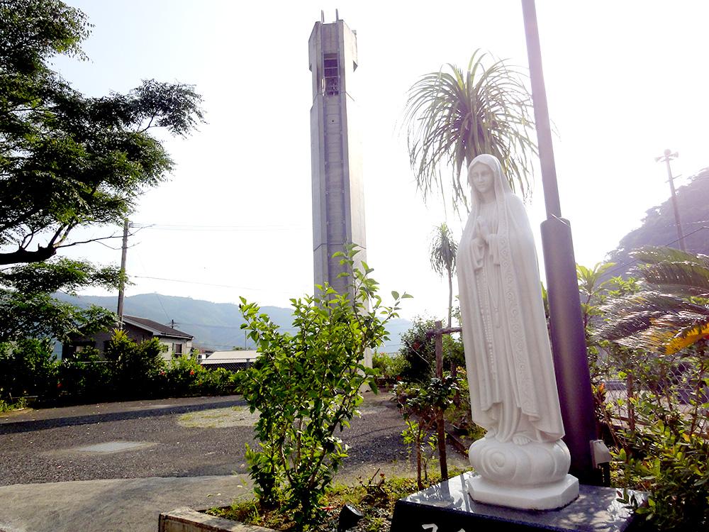 奄美、カトリック大熊教会