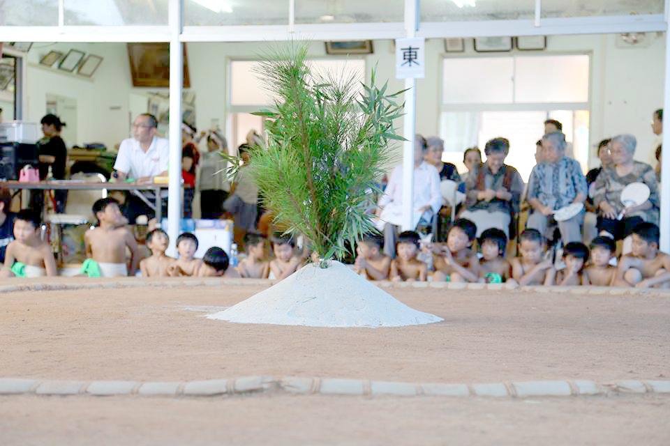 奄美宇検村の豊年祭:土俵