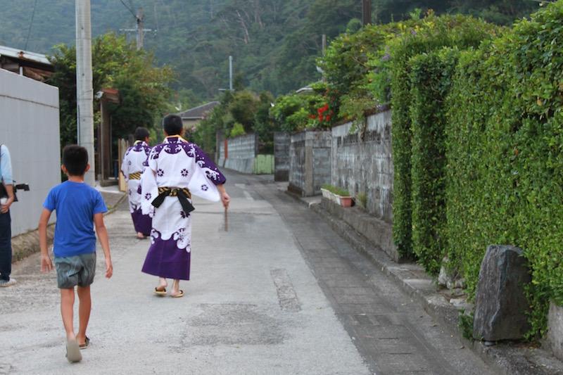 奄美大和村のキトバレ踊りのはじまり