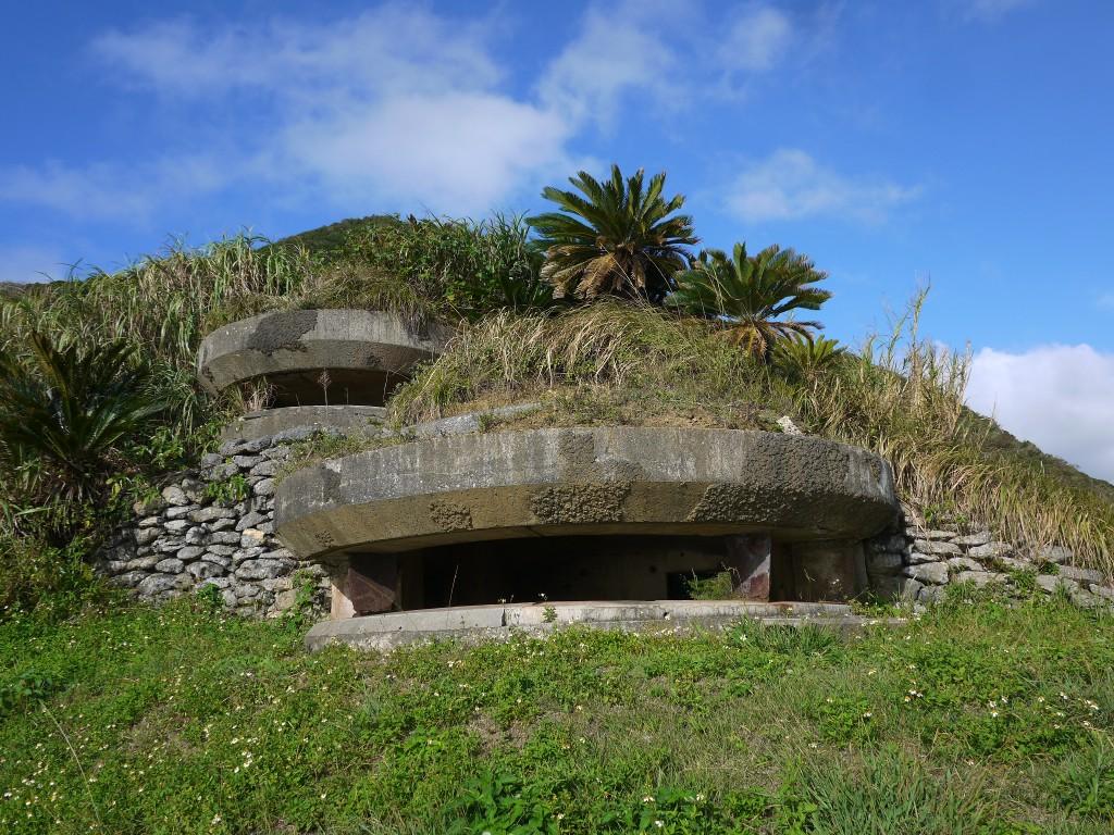 瀬戸内町西古見にある旧陸軍の観測所跡