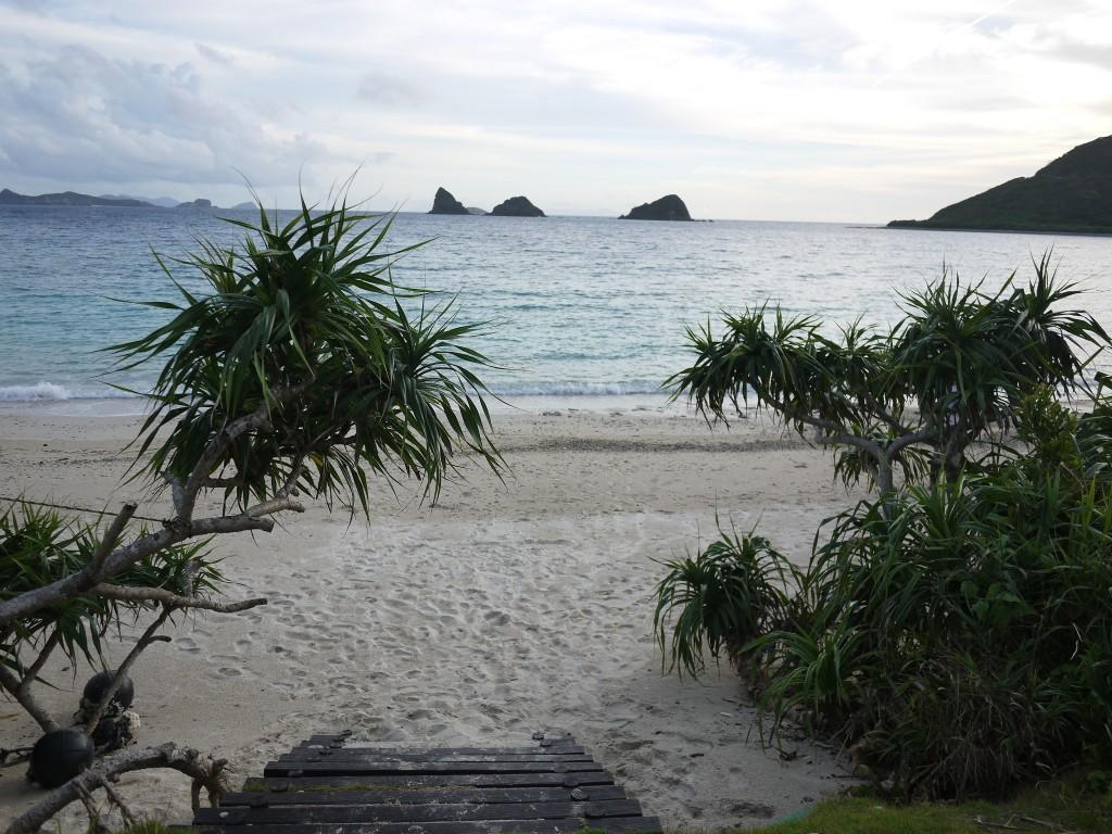 奄美西古見ナハンマ公園の砂浜