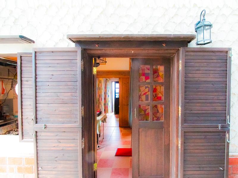 龍郷町安木屋場の民宿「なべき屋」コテージ