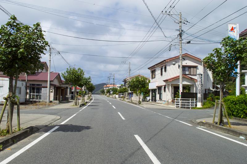 笠利赤木名の道路