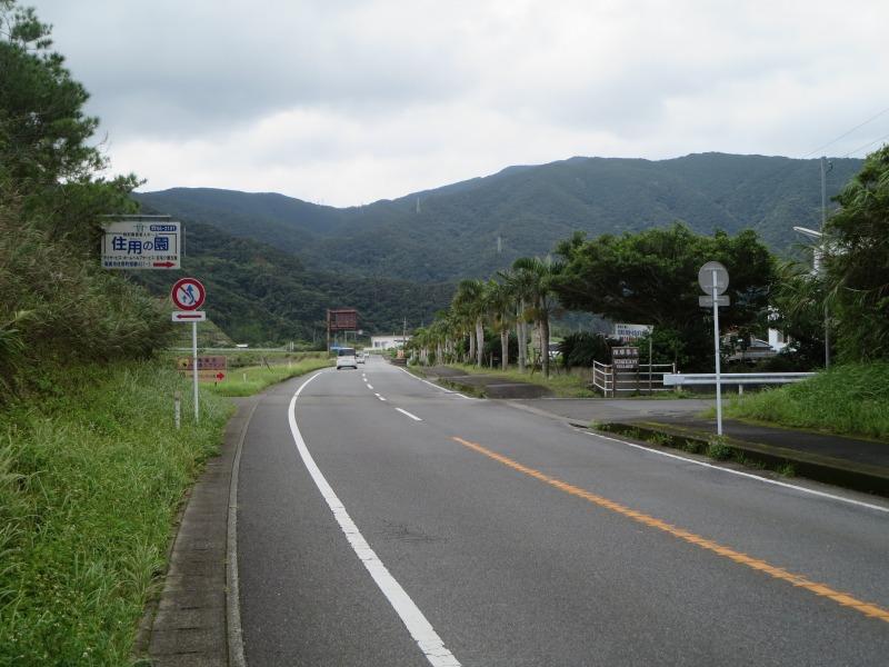 奄美住用町の道路