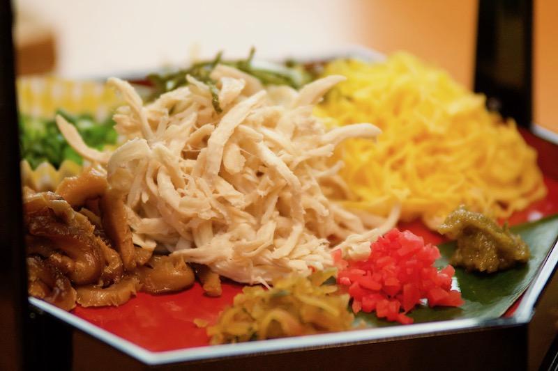 奄美宇検食堂の鶏飯