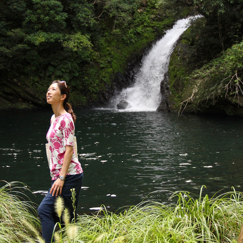 奄美のパワースポット、マテリヤの滝