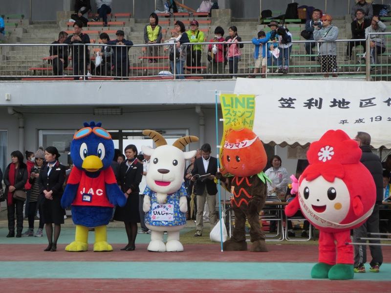 第9回奄美観光桜マラソン:ゆるキャラ
