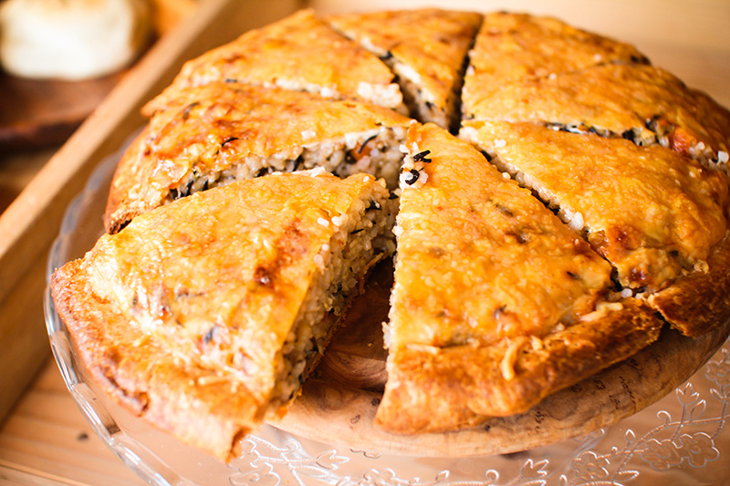 奄美のパン屋:ドーネ・パンの玄米キッシュ