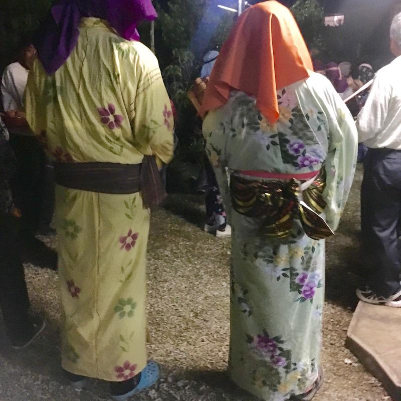 大和村湯湾釜:ムチモレ踊り