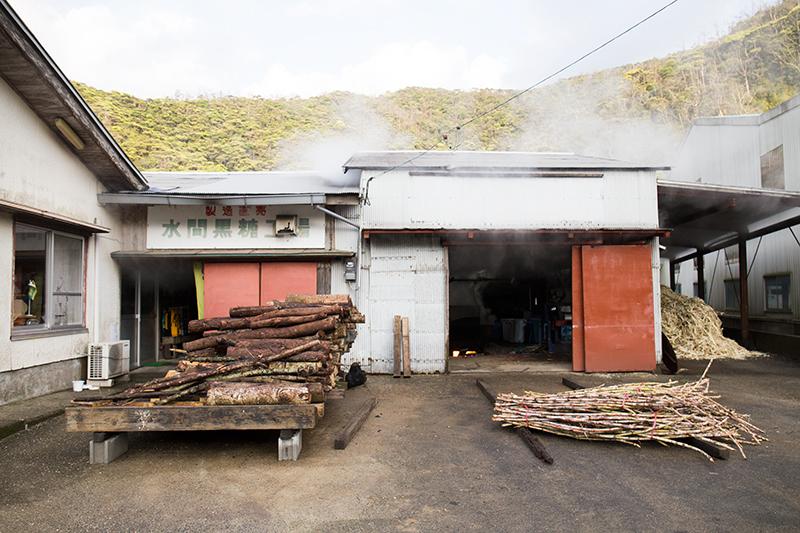 水間製糖工場の外観