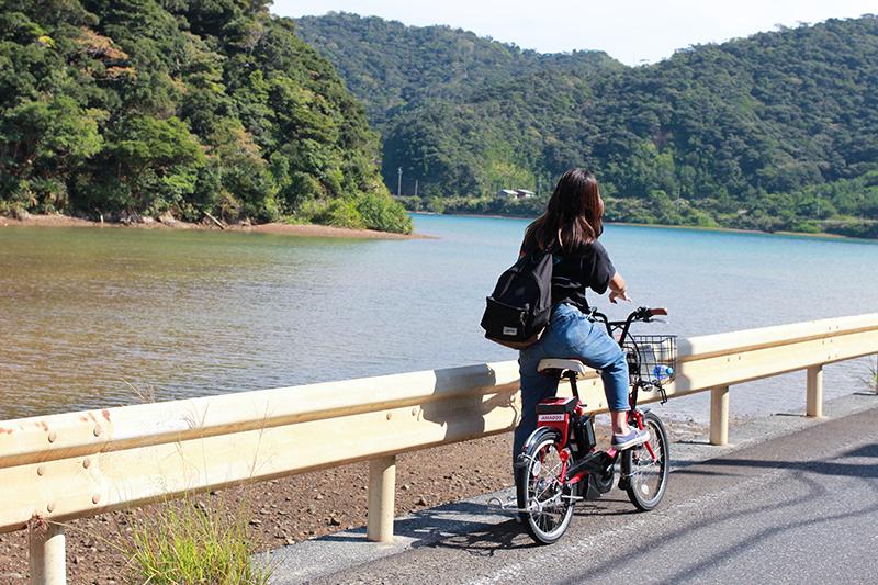 電動自転車で巡る奄美加計呂麻島