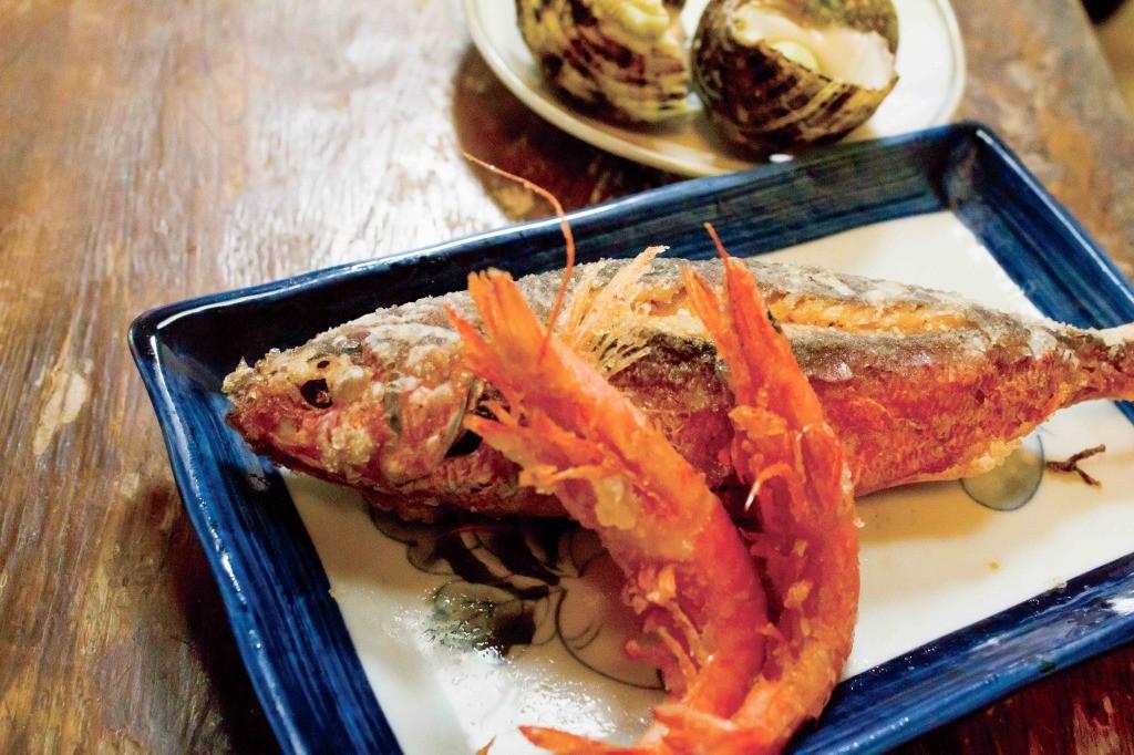 郷土料理かずみ(奄美):揚げ物