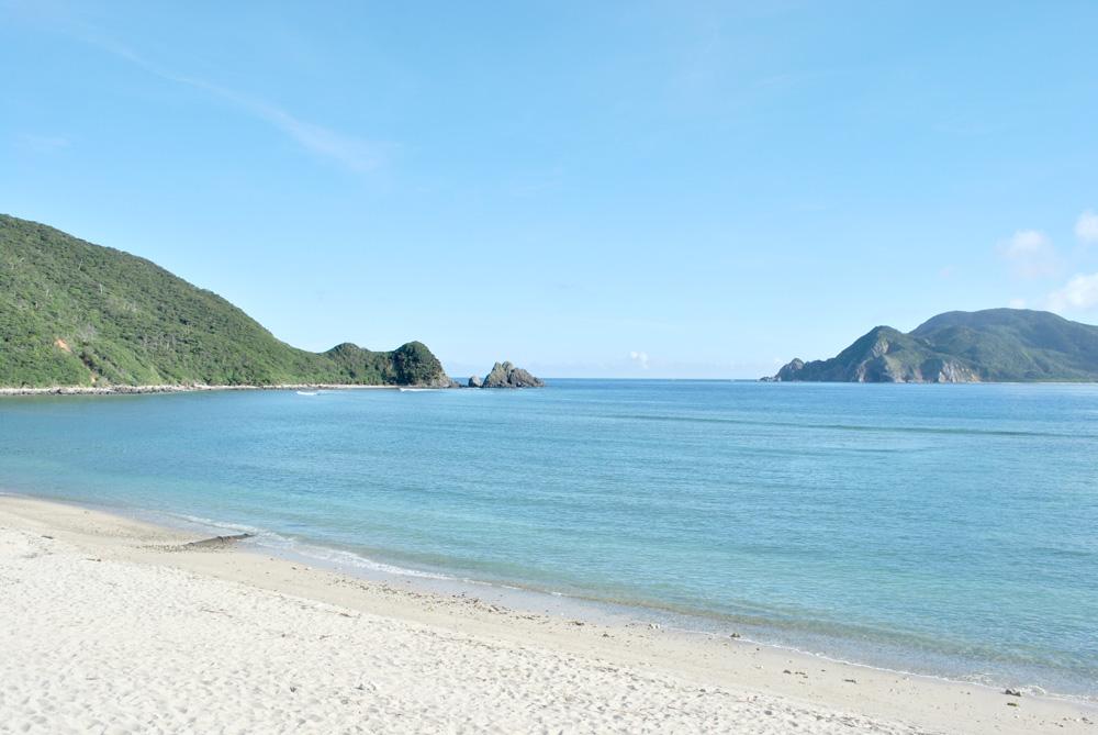 やどり浜の海