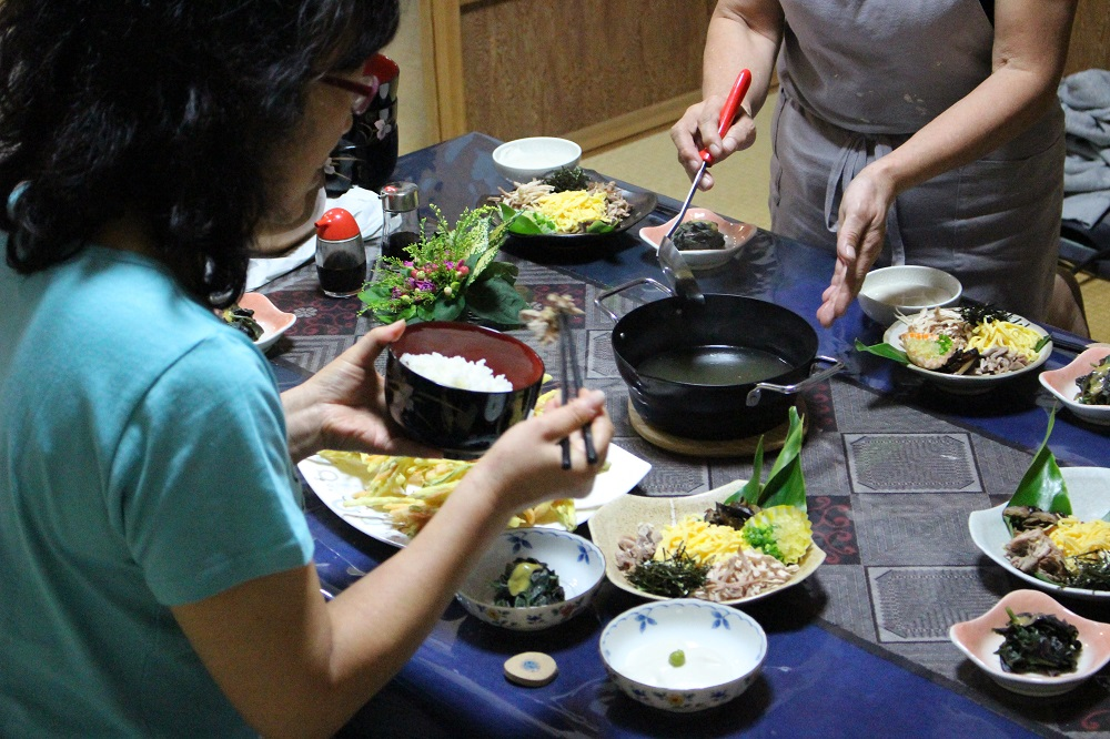住用町ほぉらしゃ家の鶏飯