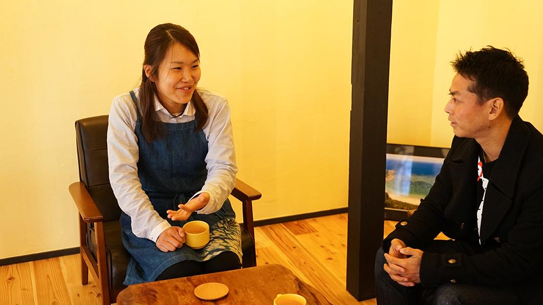 宇検村「とよひかり珈琲店」店主・重田朱美