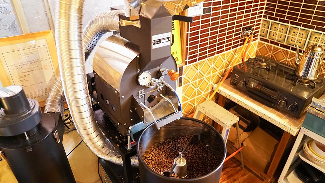 宇検村「とよひかり珈琲店」コーヒーは店内で焙煎