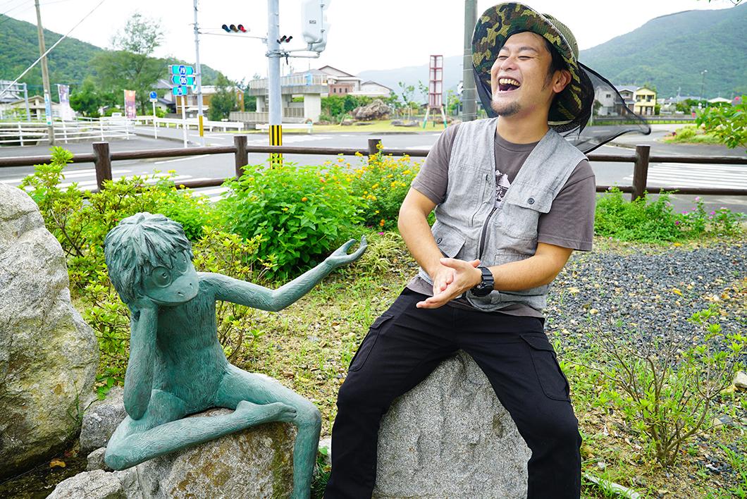 宇検村で話しかけるケンムン